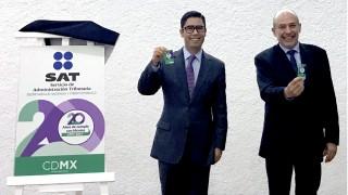 Nueva Tarjeta de Ciudad CDMX conmemorativa al 20 aniversario del Servicio de Administración Tributaria, SAT