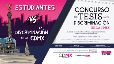 Concurso de Tesis sobre discriminación