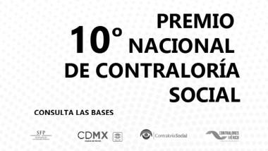 10º Premio Nacional de Contraloría Social