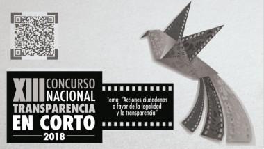XIII Concurso Nacional Transparencia en Corto 2018