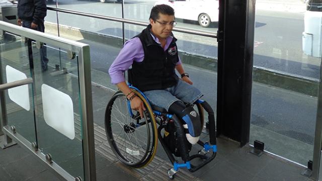 Movilidad inclusiva en Metrobús
